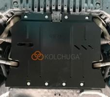Фото 2 - Защита двигателя для Mercedes-Benz E-Class W213 '16-, V-2,0D, АКПП (Кольчуга) Zipoflex