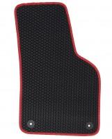 Фото 4 - Коврики в салон для Volkswagen Beetle '12-, EVA-полимерные, черные с красным кантом (Kinetic)