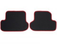 Фото 5 - Коврики в салон для Volkswagen Beetle '12-, EVA-полимерные, черные с красным кантом (Kinetic)