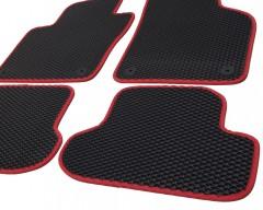 Фото 8 - Коврики в салон для Volkswagen Beetle '12-, EVA-полимерные, черные с красным кантом (Kinetic)
