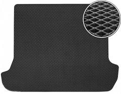 Коврик в багажник для Toyota LC Prado 120 '03-09, EVA-полимерный, черный (Kinetic)