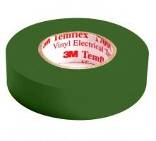 Изолента 18м зеленая (3M)