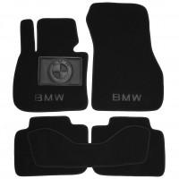Коврики в салон для BMW X1 F48 '15- текстильные, черные (Премиум)