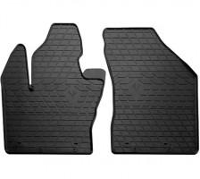 Коврики в салон передние для Fiat 500X '14- резиновые (Stingray)