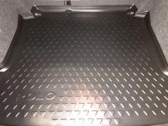Коврик в багажник Volkswagen Polo '10- седан, черный, резиновый (VAG-Group) 6RU061161
