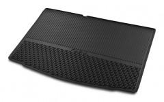 Коврик в багажник для Skoda Fabia III '15- хетчбек, резиновый, черный (VAG-Group) 6V6061160