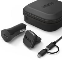 Набор универсальный для смартфона iTap Magnetic Mounting and Charging Travel Kit