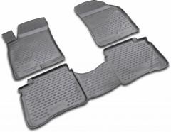 Коврики в салон для Hyundai Sonata '01-05 полиуретановые (Novline / Element)