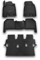 Коврики в салон для Lexus LX 570 '12- полиуретановые (Novline) 1+2+3 ряд