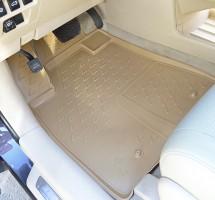 Коврики в салон для Lexus RX '12-15 полиуретановые, бежевые (Novline / Element)