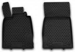 Коврики в салон для Mercedes SL-class R230 '08- полиуретановые, черные (Novline / Element)