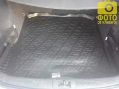 Фото 4 - Коврик в багажник для Skoda Fabia '99-07 универсал, резино/пластиковый (Lada Locker)