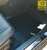 Фото 11 - Коврики в салон для Mercedes C-Class W204 '07-14 полиуретановые (Novline / Element)