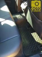 Фото 12 - Коврики в салон для Mercedes C-Class W204 '07-14 полиуретановые (Novline / Element)