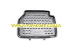 Фото 9 - Коврики в салон для Volkswagen Tiguan '07-16 полиуретановые, серые (Novline / Element)