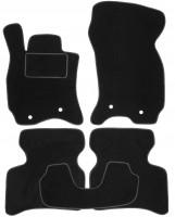 Коврики в салон для Jaguar X-Type '01-09 текстильные, черные (Стандарт)