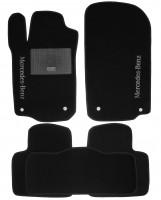 Коврики в салон для Mercedes ML-Class W164 '05-11 текстильные, черные (Стандарт)