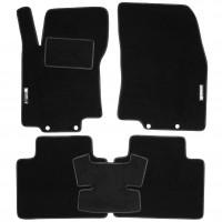 Коврики в салон для Nissan X-Trail (T32) '14- текстильные, черные (Стандарт)