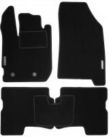 Коврики в салон для Renault Duster 2 '17- текстильные, черные (Стандарт)