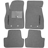 Коврики в салон для Chevrolet Volt '11-15 текстильные, серые (Стандарт)