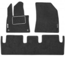 Коврики в салон для Citroen C4 Picasso / Grand Picasso '13- текстильные, серые (Стандарт)