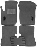 Коврики в салон для Kia Rio '00-05 текстильные, серые (Стандарт)