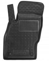 Коврик в салон водительский для Opel Corsa D '06-14 резиновый, черный (AVTO-Gumm)