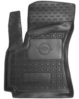 Коврик в салон водительский для Opel Zafira '99-05 резиновый, черный (AVTO-Gumm)