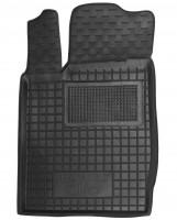 Коврик в салон водительский для Renault Clio II '01-12 резиновый, черный (AVTO-Gumm)