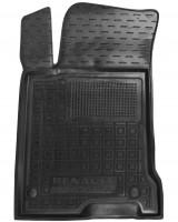Коврик в салон водительский для Renault Laguna '07-15 резиновый, черный (AVTO-Gumm)