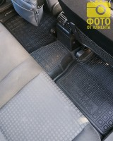 Фото 13 - Коврики в салон для Opel Zafira '99-05 резиновые, черные (AVTO-Gumm)