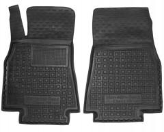 Коврики в салон передние для Mercedes A-Class W169 '04-11 резиновые, черные (AVTO-Gumm)
