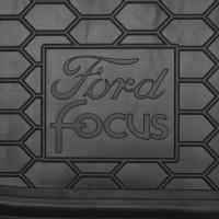 Фото 3 - Коврик в багажник для Ford Focus I '99-04, седан резиновый (AVTO-Gumm)