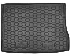 Фото 1 - Коврик в багажник для Kia Ceed '06-10, хетчбэк резиновый (AVTO-Gumm)