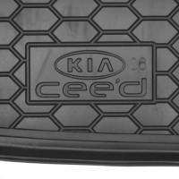 Фото 3 - Коврик в багажник для Kia Ceed '06-10, хетчбэк резиновый (AVTO-Gumm)