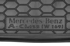 Фото 3 - Коврик в багажник для Mercedes A-Class W169 '04-11 резиновый (AVTO-Gumm)