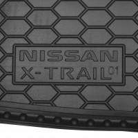 Фото 3 - Коврик в багажник для Nissan X-Trail '01-07 резиновый (AVTO-Gumm)