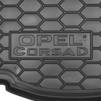 Фото 3 - Коврик в багажник для Opel Corsa D '06-14, нижний резиновый (AVTO-Gumm)
