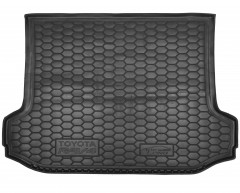 Коврик в багажник для Toyota RAV4 '06-12, Long резиновый (AVTO-Gumm)