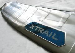 Фото 2 - Накладка на задний бампер для Nissan X-Trail (T32) '17-,  нержавеющая сталь, тип A (ASP)