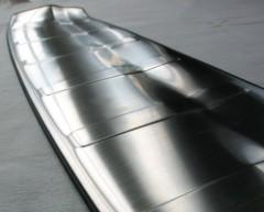 Фото 3 - Накладка на задний бампер для Nissan X-Trail (T32) '17-,  нержавеющая сталь, тип A (ASP)