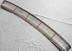 Фото 4 - Накладка на задний бампер для Nissan X-Trail (T32) '17-,  нержавеющая сталь, тип A (ASP)