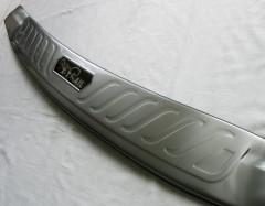Фото 2 - Накладка на задний бампер для Nissan X-Trail (T32) '17-,  нержавеющая сталь, тип E (ASP)