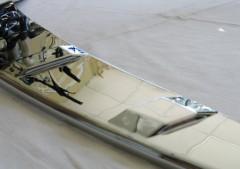 Фото 2 - Накладка на капот для Toyota Camry V70 '18-, хром (ASP)