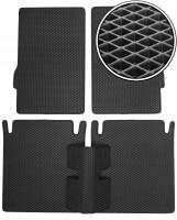 Коврики в салон для ГАЗ 24-10 Волга '85-92, EVA-полимерные, черные (Kinetic)