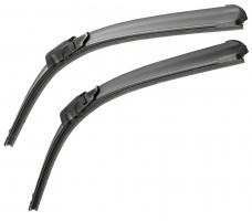 Щётки стеклоочистителя бескаркасные Bosch AeroTwin 650 и 475 мм. спец. крепеж (к-кт) A 206 S