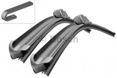 Щётки стеклоочистителя бескаркасные Bosch AeroTwin 650 и 475 мм. спец. крепеж (к-кт) A 658 S