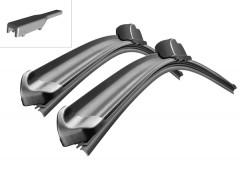 Щётки стеклоочистителя бескаркасные Bosch AeroTwin 600 и 450 мм. спец. крепеж (к-кт) A 312 S