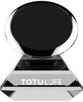 Держатель телефона TOTU Star Crystal Magnetic Car Mount Silver