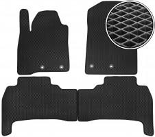 Коврики в салон для Lexus LX 570 '12-, EVA-полимерные, черные (Kinetic)